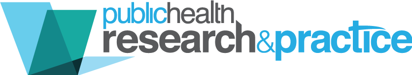 Public Health Research and Practice logo